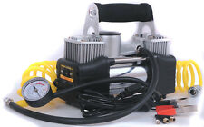 Heavy Duty Double Cylinder Air Pump 150 PSI 12v