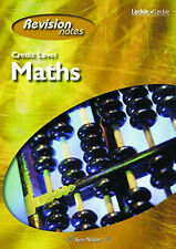 Ken Nisbet Credit Level Maths Revision Notes (Course Notes) Very Good Book