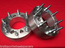 "2.5"" Ford 2004-up dually conversion HUB CENTRIC WHEEL ADAPTERS 8x170 to 8x200"