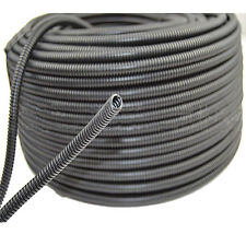 "50' Feet 3/8"" Split Loom Wire Flexible Tubing Conduit Polyethylene Hose Sales"