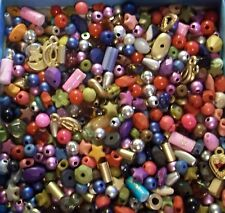 GRAB BAG- New Assorted mix of Beads, Chips, Tiny- small Sizes & Shapes 1 oz.