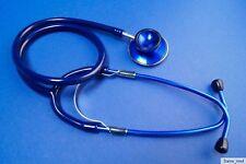 Stethoskop,Schwesternstethoskop,Doppelkopf,Rettungsdienst, blau