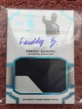#2/10 (ONLY 10) 2016 LEAF PERFECT GAME AUTO AUTOGRAPH JERSEY FREDDY ZAMORA RC