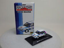 1 :64 MAZDA 323 GTX 1991 Swedish White SS.15 MAZDA RALLY CAR COLLECTION CM's NEW