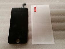 Iphone 5se Black LCD Digitizer Screen Assembly Digi  & Tempered Glass