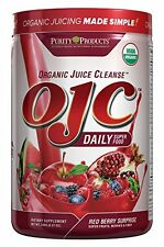 Certified Organic Juice Cleanse,8.47oz (OJC) - Red Berry Surprise