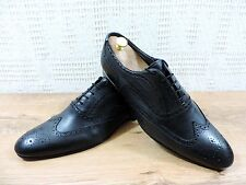 Paul Smith Men's Black Leather Lace up Brogue Shoes  -  UK 10.5  US 11.5  EU 45