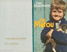 Le Matou / Yves BEAUCHEMIN // Québec // Prix du Livre de l'été