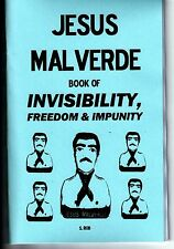 JESUS MALVERDE BOOK OF INVISIBILITY, FREEDOM & IMPUNITY S. Rob occult