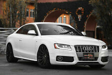 "19"" MRR HR9 WHEELS 5X112 +35 BLACK RIMS FOR AUDI A4 A5 A6 A8 SET OF (4) 19X8.5"""