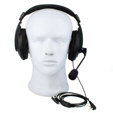 2-Pin VOX Headset Earpiece for KENWOOD/BAOFENG/TYT/WOUXUN/PUXING Walkie Talkie