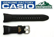 CASIO PRO TREK Pathfinder PRG-50-1 Original Black Rubber Watch BAND Strap PRG-60