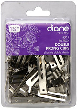 New Salon Double Prong Clip Gorgeous Pin Curls Hair Styling 1.75 Inches 80 Clips
