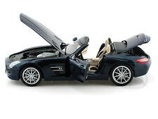 MERCEDES SLS AMG ROADSTER 2011 BLUE METALLIC MINICHAMPS 100039031 1/18 BLAU MET