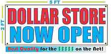 DOLLAR STORE NOW OPEN Banner Sign NEW Larger Size Best Quality for the $$$