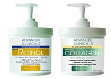 Advanced Clinicals RETINOL Advanced Firming Cream & COLLAGEN Skin Rescue Lotion