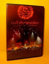DVD Whitesnake Live In Japan 11TR 2007 NTSC 55 min. Hard Rock RARE !