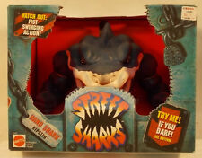 Street Sharks Hand Shark Ripster With Fist Swinging Action Puppet Mattel (MISB)
