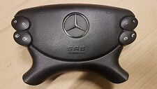 MERCEDES BENZ MB CLK W209 03-09 MULTIFUNCTION BLACK STEERING WHEEL AIRBAG