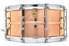 Ludwig Copper Phonic Snare Drum 14x6.5 w/ Tube Lugs - LC662T