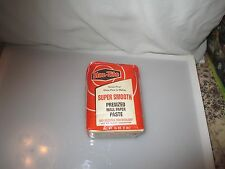VINTAGE Staz-Tite pre-sized wallpaper paste ADVERTISING or USE 1lb wheat