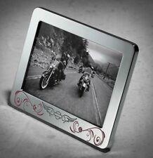 """Harley-Davidson® Womens Pink Label Crystal Embellished 4"""" x 6"""" Photo Frame"""