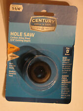 Century Drill and Tool 5420 Carbon Alloy Hole Saw, 1-1/4-Inch