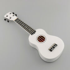 "21"" Ukulele Ukelele Mahalo White Economy Art Acoustic Gifts Music Instrument"