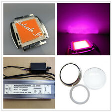 200W 380-840nm Full spectrum High power led+dimmer driver+100mm lens kits DIY