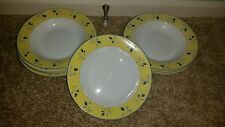 5 ROYAL DOULTON BLUEBERRY CHINA BOWLS FREE SHIPPING