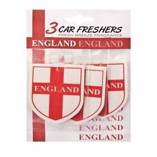 3 x England Car Air Freshener - Fresh Breeze Fragrance Scent