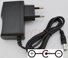 9V 1A 1000mA Switching Power Supply adapter Reverse Polarity Negative Inside EU