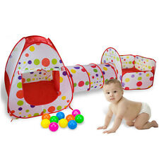 Toddler Indoor Outdoor Play Tent Infant Funny Creeping Tunnel Safety Playpen 3PC