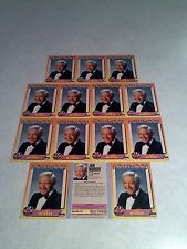 *****Jan Murray*****  Lot of 14 cards / Hollywood Walk of Fame