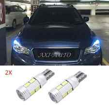 2x T10 W5W Parking Light  LED Bulb For Subaru impreza legacy xv forester Outback