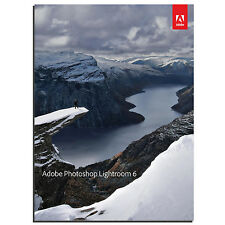 Adobe Photoshop Lightroom 6-Windows PC-Original - 1 licencia