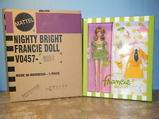 BARBIE FAN CLUB EXCLUSIVE NIGHTY BRIGHTS FRANCIE GIFT SET  *NEW * IN SHIPPER