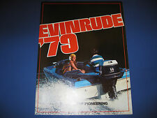 Evinrude Outboard Motor Sales Catalog with Price List 1979 - all 1979 Models
