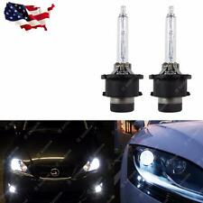 2x White 6000K HID D2S/D2R HID Direct Replacement Headlight Low Beam Bulbs