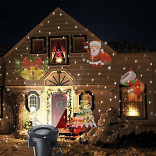 New Moving Laser Projector Outdoor Christmas Landscape Decoration LED Light Lamp