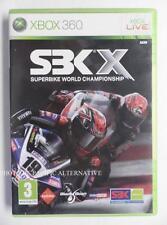 jeu SBK X sur xbox 360 en francais game spiel juego gioco complet superbike moto