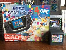Sega game gear console portable coffret - 4 dans une version + 20 games bundle