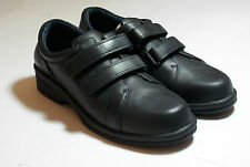 Navy Blue Leather Professional Flat Shoes High Quality Girl Guides UK Size5 #138