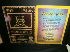 Pokemon BLACK STAR PROMO-ANCIENT MEW HOLOFOIL! UNSEALED !   MINT