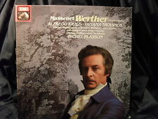 J. Massenet - Werther / Plasson     3 LP-Box