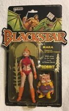 1983 BLACKSTAR figure MARA unused MOC by Galoob open bubble MINT!