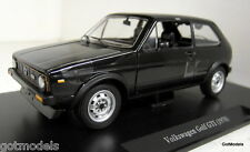 Atlas 1/24 Scale Volkswagen Golf GTi 1978 Black LHD + Case Diecast model car