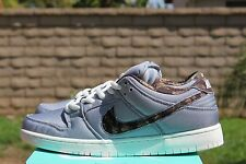 NIKE DUNK LOW PRO SB SZ 12 DIGI CAMO WOLF GREY MEDIUM OLIVE SAIL 304292 054