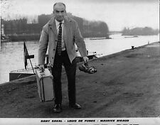 Photo originale Louis de Funès Un drôle de caïd péniche quai Paris