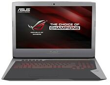 ASUS Gaming G752VS-Intel i7 7700HQ/16 GB/512GB SSD+1TB HD/44cm Disp/GTX1070 8GB